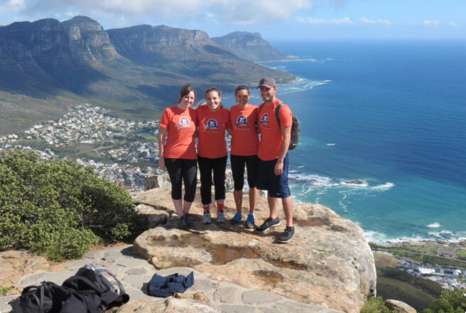 Interns in South Africa