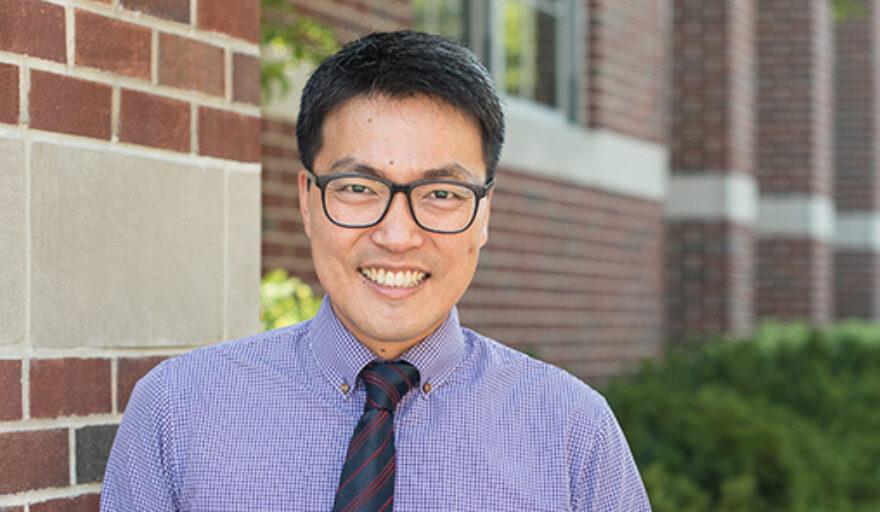 head shot image of Hyunil Kim