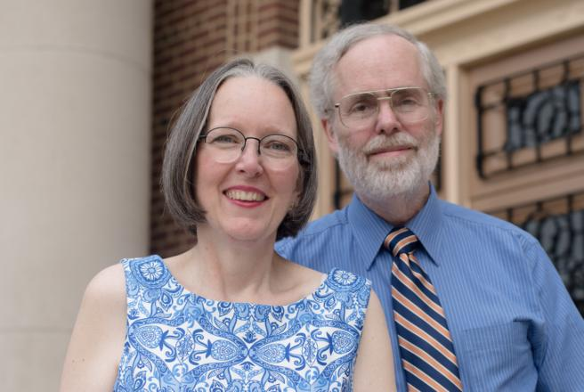image of donor couple, the Haney's