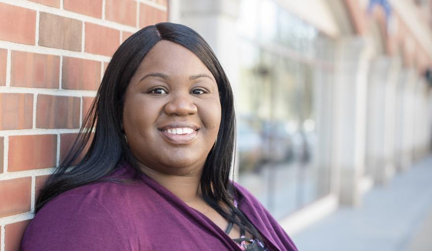 Natasha Mables, MSW student headshot