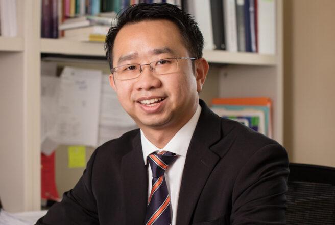 Kevin Tan - professor of social work