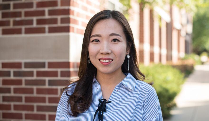 headshot of Shongha Kim