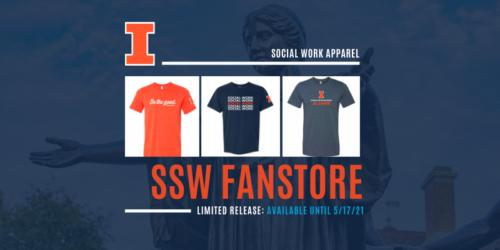 image of t-shirts and promotion of fanstore