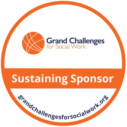Grand Challenges for Social Work Sustaining Sponsor Badge