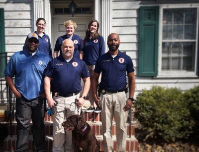 Lt. Aaron Landers with UIPD Crisis Team