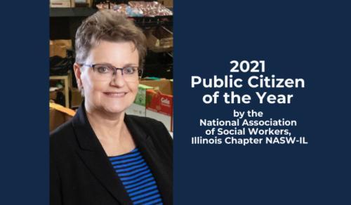 image of Julie Pryde with Public Citizen announcement